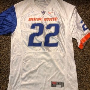 Mens White Doug Martin Boise State Football Jersey